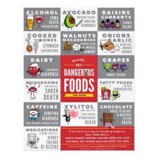 Aviadores la comida más peligrosa del mundo para l folleto 21,6 x 28 cm