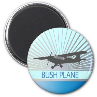 Avión de Bush Imán Redondo 5 Cm