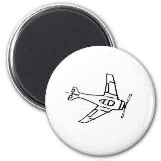 Avión de combate iman