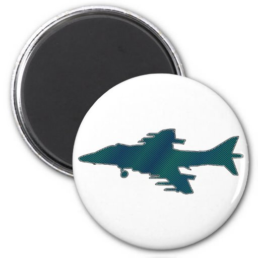 Avión de combate imán para frigorifico