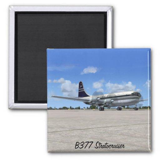 Avión de pasajeros de B377 Stratocruiser Imán Para Frigorífico