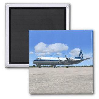 Avión de pasajeros de Lockheed Electra Imán