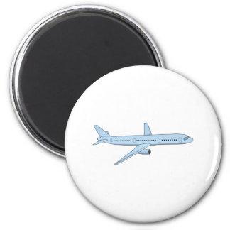 Avión de pasajeros iman para frigorífico