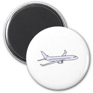 Avión de pasajeros imán