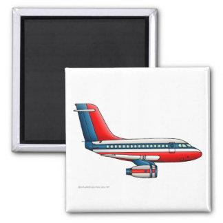 Avión del avión de pasajeros del aeroplano imán cuadrado