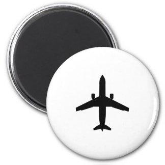 avión del pasajero iman para frigorífico