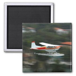 Avión en foto del movimiento iman