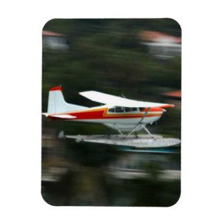 Avión en foto del movimiento imanes de vinilo
