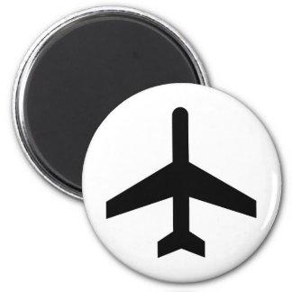 Avión Imán Redondo 5 Cm
