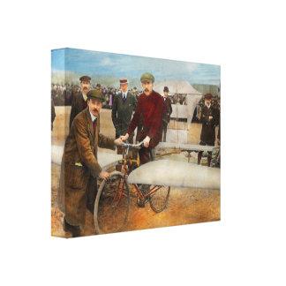 Avión - impar - fácil como montar una bici 1912 lienzo