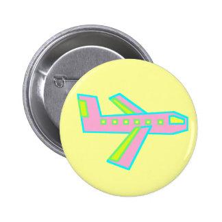 Avión rosado de Zooper Pins