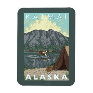 Avión y pesca - Katmai, Alaska de Bush Imán