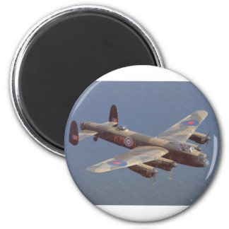 Aviones de bombardero B-25 Imán Redondo 5 Cm