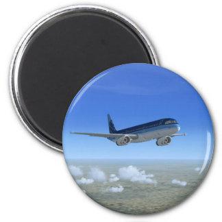 Aviones del avión de pasajeros del jet A321 Imán De Frigorífico