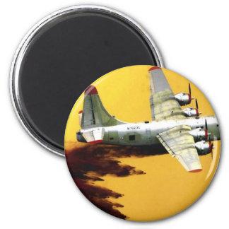 Aviones del bombero de PBY Imán Redondo 5 Cm