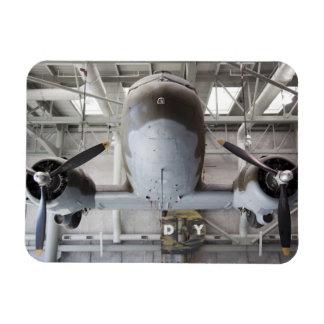 Aviones del transporte de Dakota del C-47 de la Se Imán