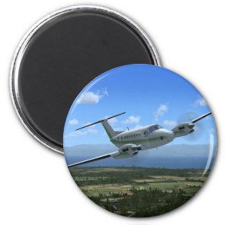 Aviones del turbopropulsor del Rey-Aire Imán Para Frigorífico