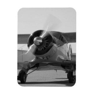 Aviones del vintage imanes rectangulares