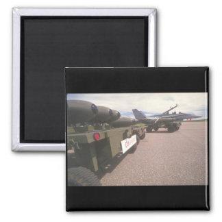 aviones _Military de los Aire-misiles. Imanes