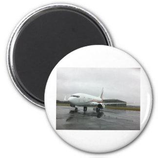Aviones tirados con las aletillas imán redondo 5 cm