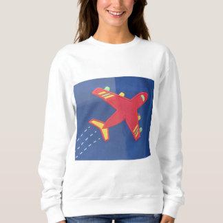 Aviones valientes del avión de la camiseta básica