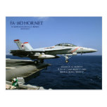 Avispón de FA-18D Postal