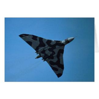 Avro Vulcan B2, XH-558 Tarjeta De Felicitación