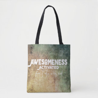 Awesomeness activó - verde - la bolsa de asas