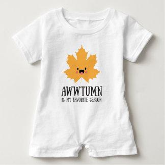 Awwtumn es mi mameluco preferido del bebé de la