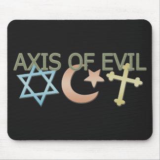 AXIS del mal Alfombrilla De Ratón