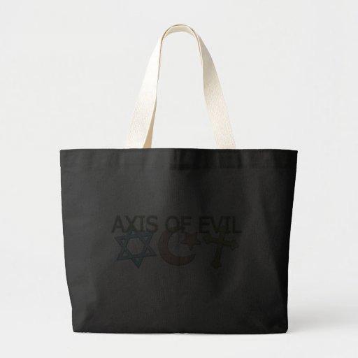 AXIS del mal Bolsas De Mano