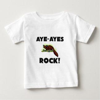 Aye-Ayes roca Camiseta De Bebé
