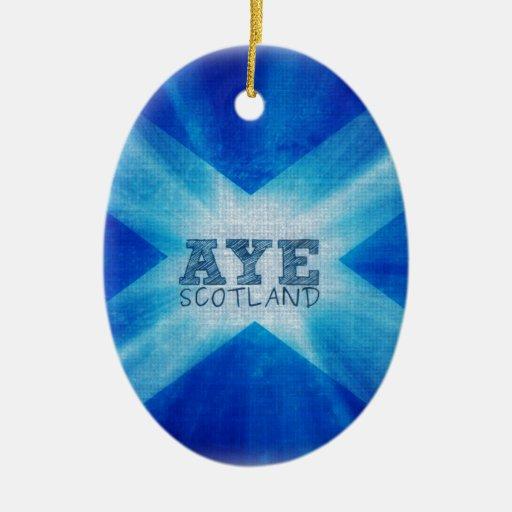 Aye Scotland.jpg Ornamento De Navidad