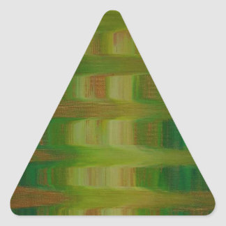 Ayer Pegatina Triangular