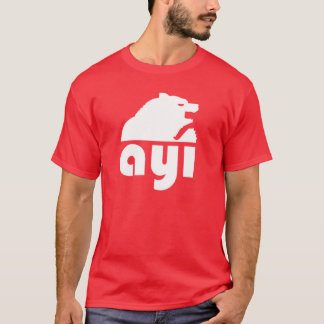 (Ayı) oso turco de S Camiseta