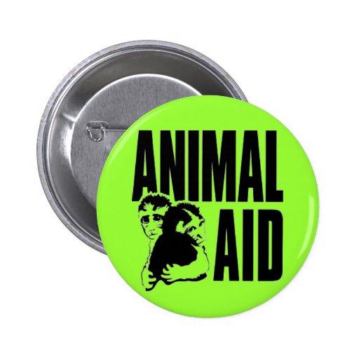 Ayuda animal pin