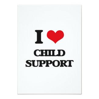 Ayuda de hijo natural I Invitación 12,7 X 17,8 Cm