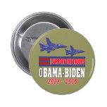 Ayuda de Obama Biden nuestras tropas Pins