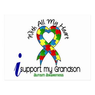 Ayuda del autismo I mi nieto Postal