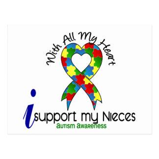 Ayuda del autismo I mis sobrinas Postales