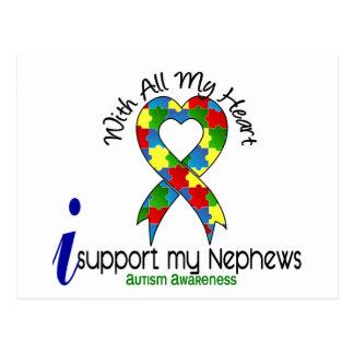 Ayuda del autismo I mis sobrinos Postales