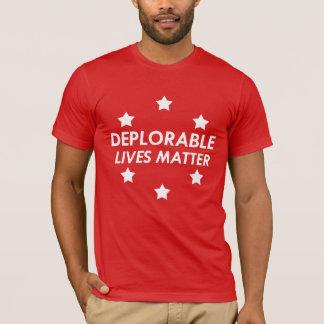 Ayuda Donald Trump - vidas deplorables Camiseta
