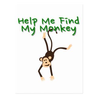 Ayuda encontrar mi mono postal
