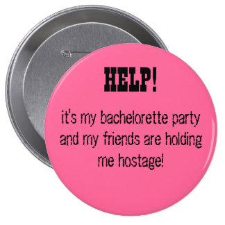 ¡AYUDA es mi fiesta del bachelorette… Pin