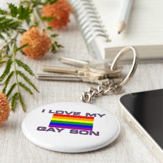 Ayuda gay l amor mi bandera gay del arco iris del llaveros