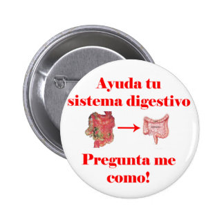 Ayuda tu Sistema Digestivo Pin