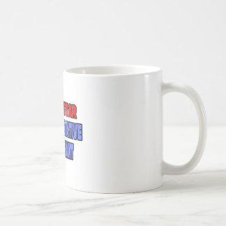 Ayudante administrativo de la estrella del rock taza de café