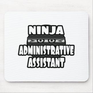 Ayudante administrativo de Ninja Alfombrilla De Ratón