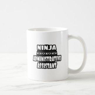 Ayudante administrativo de Ninja Tazas