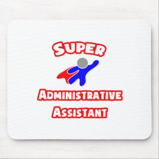Ayudante administrativo estupendo alfombrilla de raton